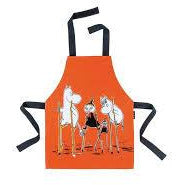 Children's Apron On Stilts - .