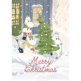 Moomin Christmas Card - .