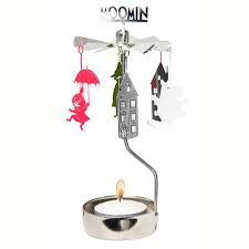 Rotary Candle Holder Moomin House - .