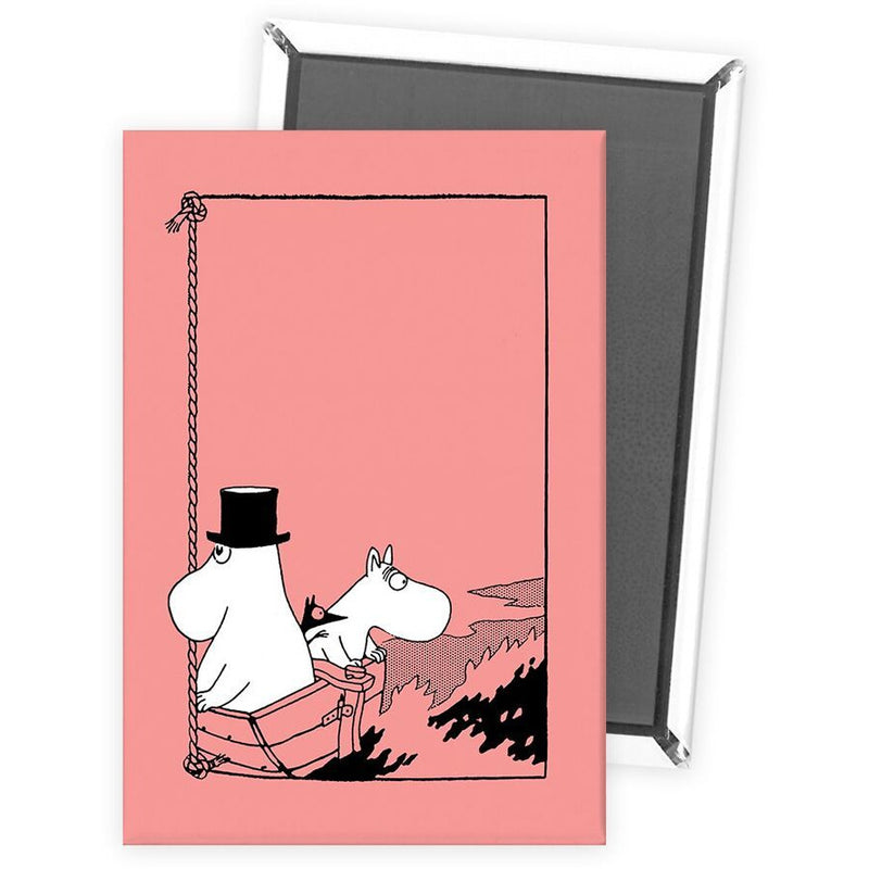 Fridge Magnet Moomintroll And Moominpappa In A Boat - .