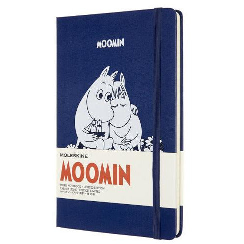 Moleskine Moomin Notebook Blue - .