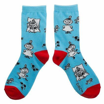 Moomin Socks Little My Blue