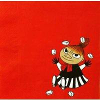 Moomin Paper Napkin Little My Red - .