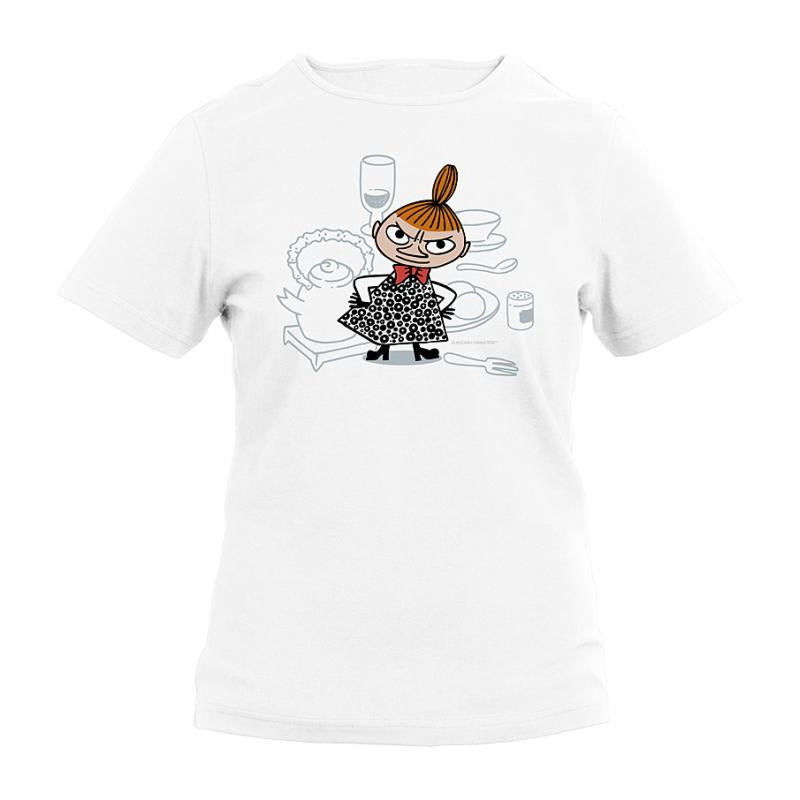 Moomin T-Shirt ladies Little My White - .