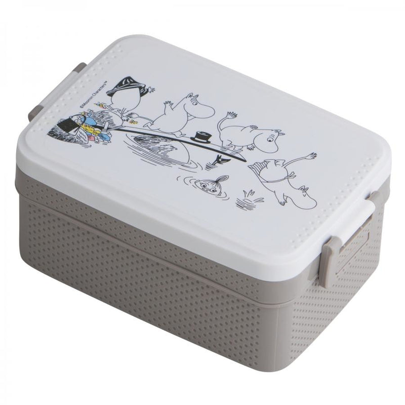 Moomin Lunch Box Sea Grey - .