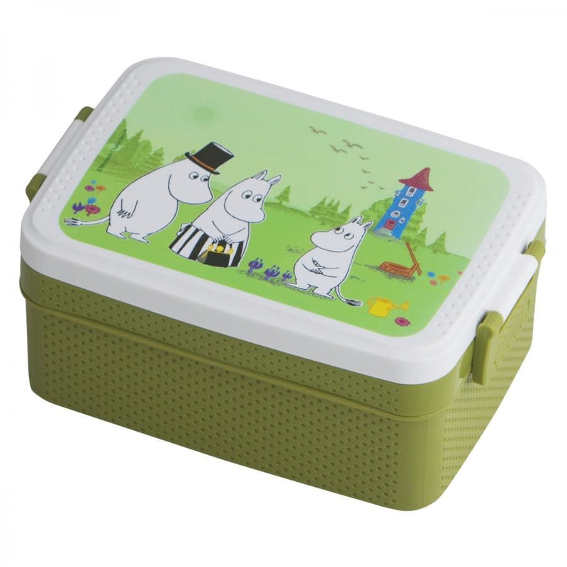 Moomin Lunch Box Sea Green - .