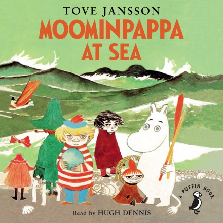 Audio Book Moominpappa at Sea read by Hugh Dennis - .