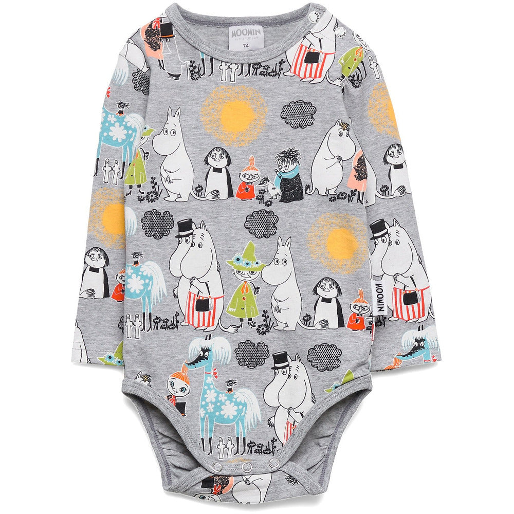 Kids' Body Summer Day Grey 68