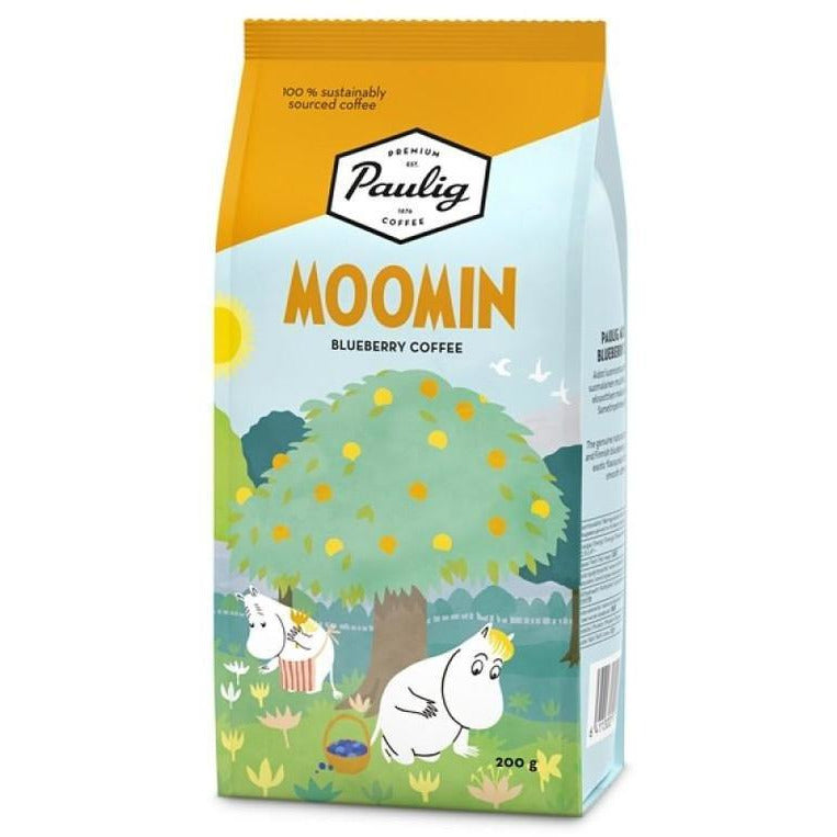 Moomin Blueberry Coffee Summer - .