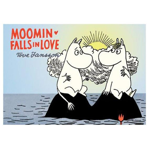 Colour Comic Book Moomin Falls In Love - .