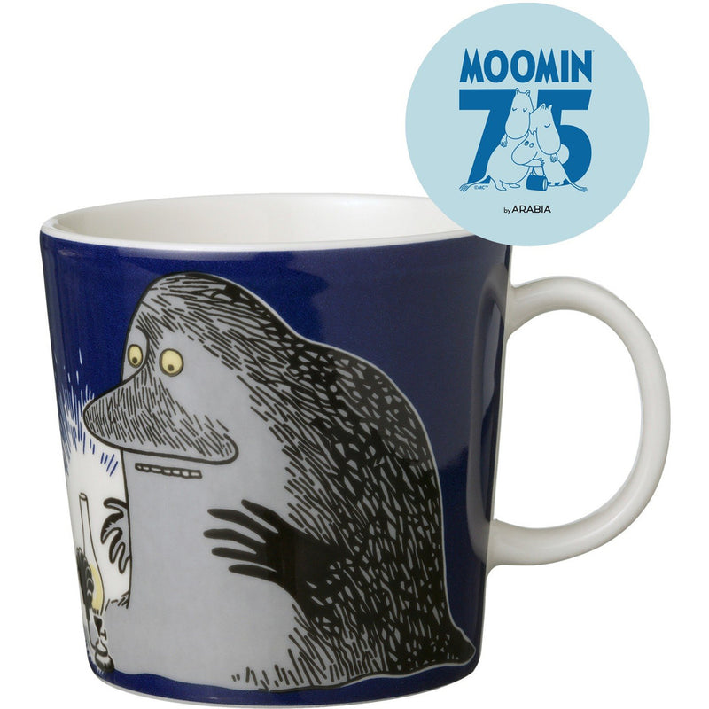 Moomin Mug 75th Anniversary The Groke