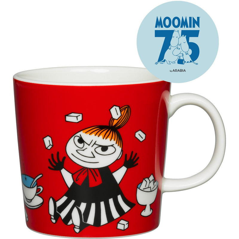 Moomin Mug  75th anniversary Little My Red