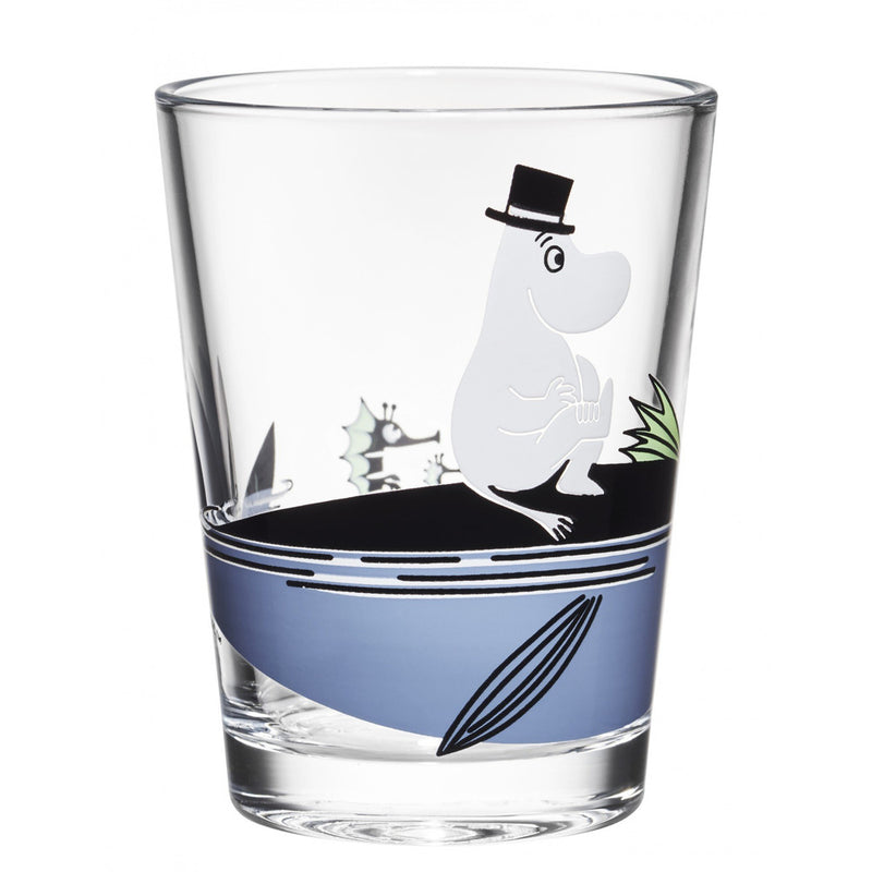Moomin Glass 22 cl Moominpappa by Iittala