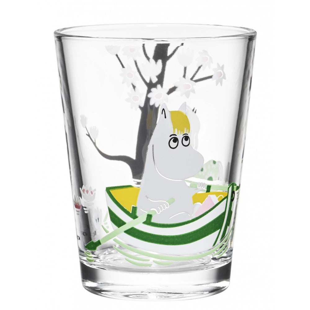 Moomin Glass 22 cl Snorkmaiden - .