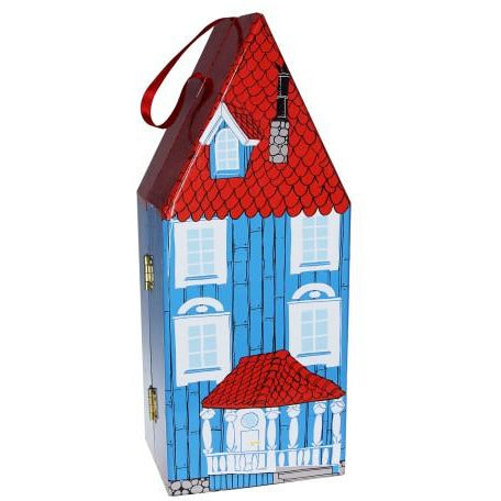 Moomin Play House With Wooden Figures And Jig Saw Puzzle