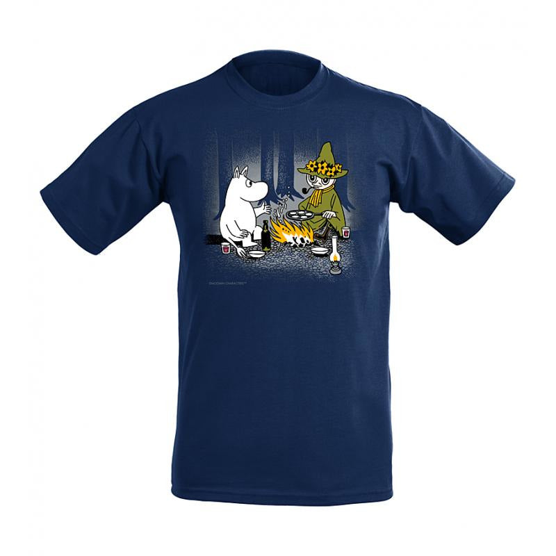 Moomin T-Shirt Moomintroll And Snufkin