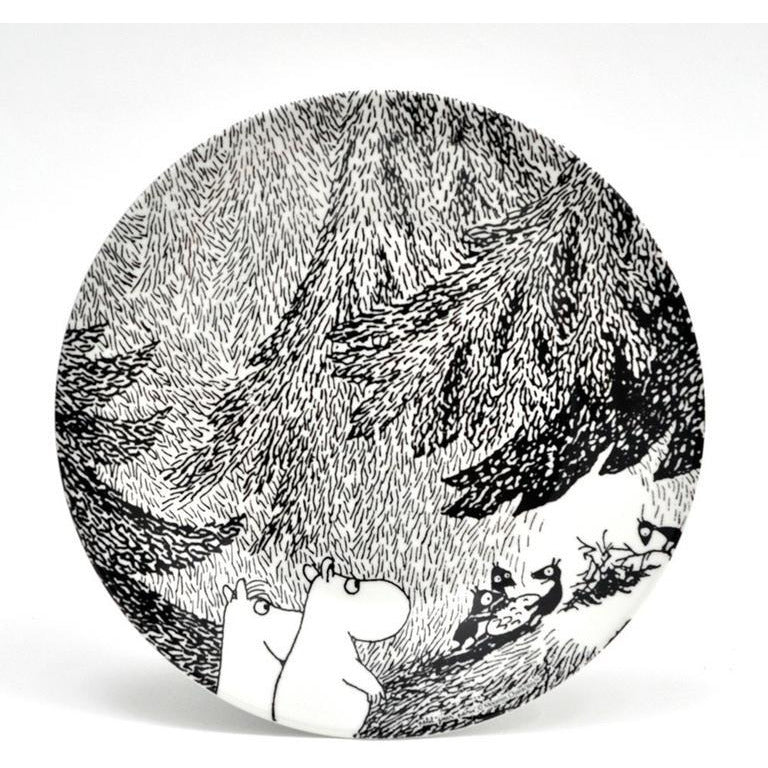 Moomin Dessert Plate The Meeting - .