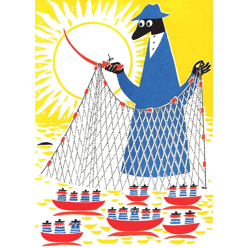 Postcard Fisherman - .