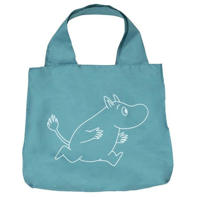 Eco Carry Bag Moomintroll L Petrol - .