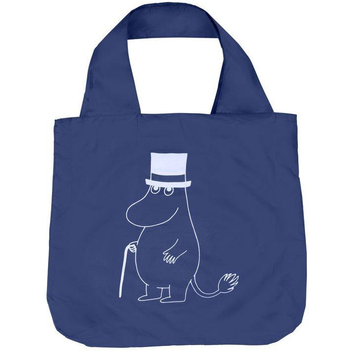 Eco Carry Bag Moominpappa L Blue - .
