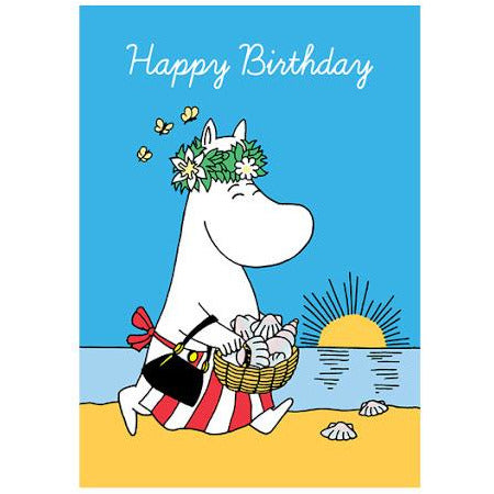 Greeting Card Happy Birthday Moominmamma - .