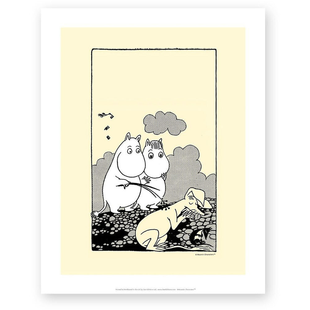 Art Print Tickles - .