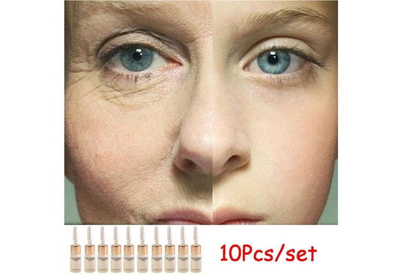 10pcs Moisturizer Anti Aging Anti Wrinkle Liquid Lift Face Cream Hyaluronic Acid Serum Instantly Ageless Products