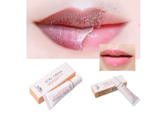 Lip Exfoliator Lip Mask Gel Beauty Lip Exfoliating Makeup Tools 12g Removal Horniness Cream For Lips (Color: White)