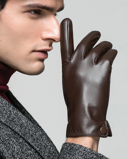 Genuine Goatskin Leather  Glove