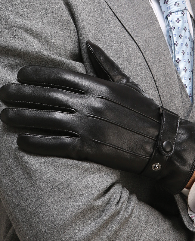 Houndsthroot Men Leather Glove