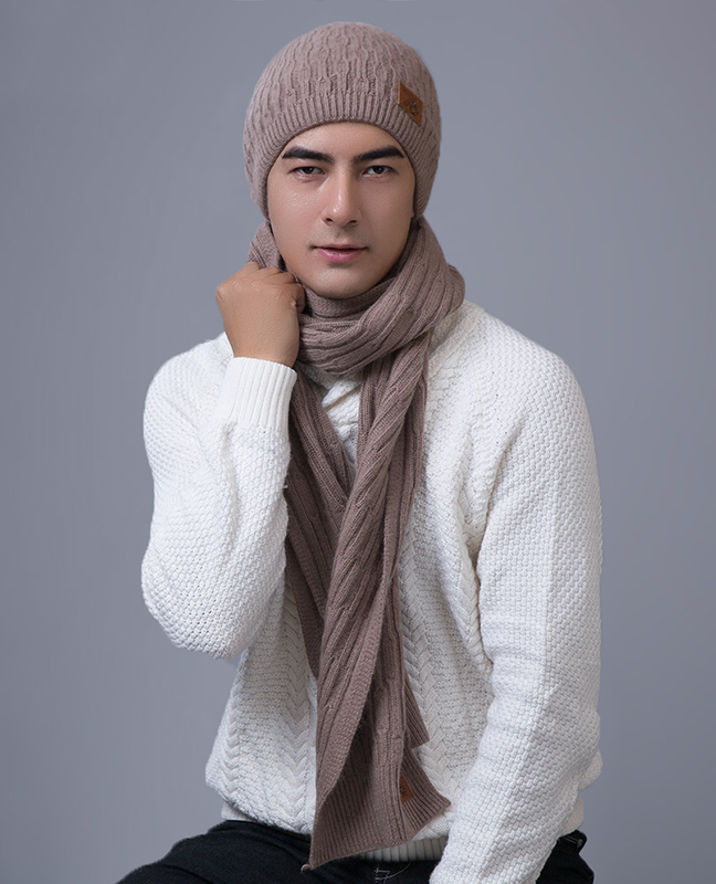Exotic Unisex Hat Scarf Set