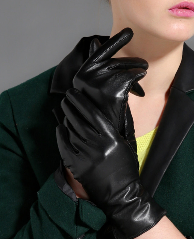 Real Goatskin Finger Glove