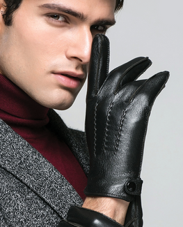 Thicken Deerskin Glove