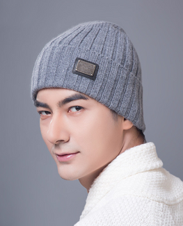 Winter Knitted Cashmere beanie