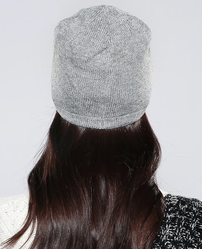 Natural knitted Winter Bonnet