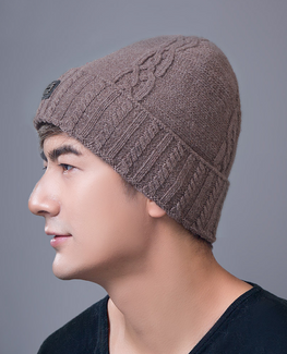 Velvet Knit Bonnet