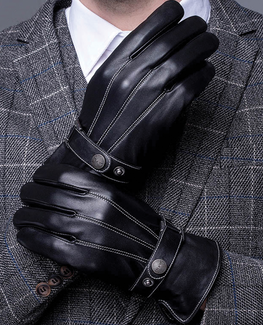 Genuine Leather Winter Glove