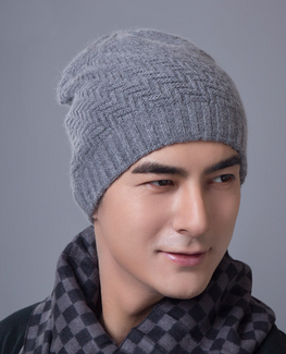 Knit Double warm Bonnet