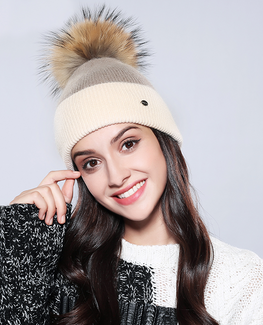 Trendy Rabbit Fur Beanie