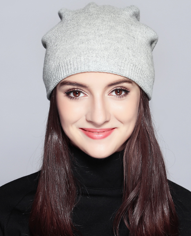 Knitted Casual Wool Beanie