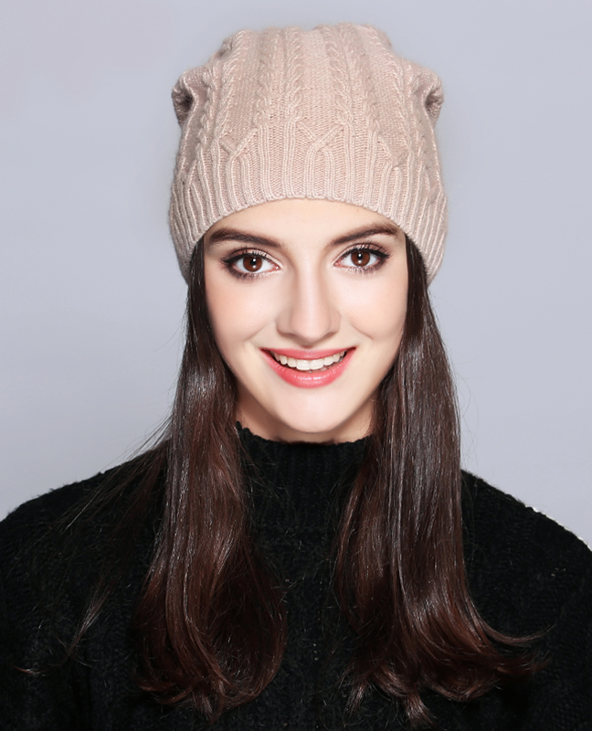 Knitted Wool Winter Hat