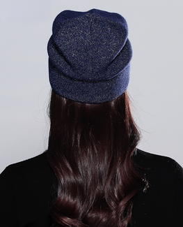 Five-Pointed Stars Knitted Beanie