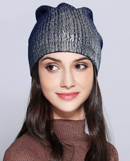 Shining Knitted Bonnet