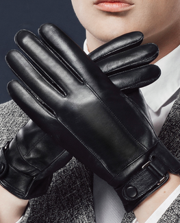 Stylish Genuine Leather Men Glove