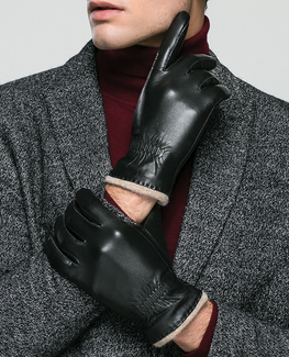Genuine Thicken Cashmere Glove
