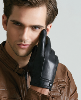 Natural Leather Glove