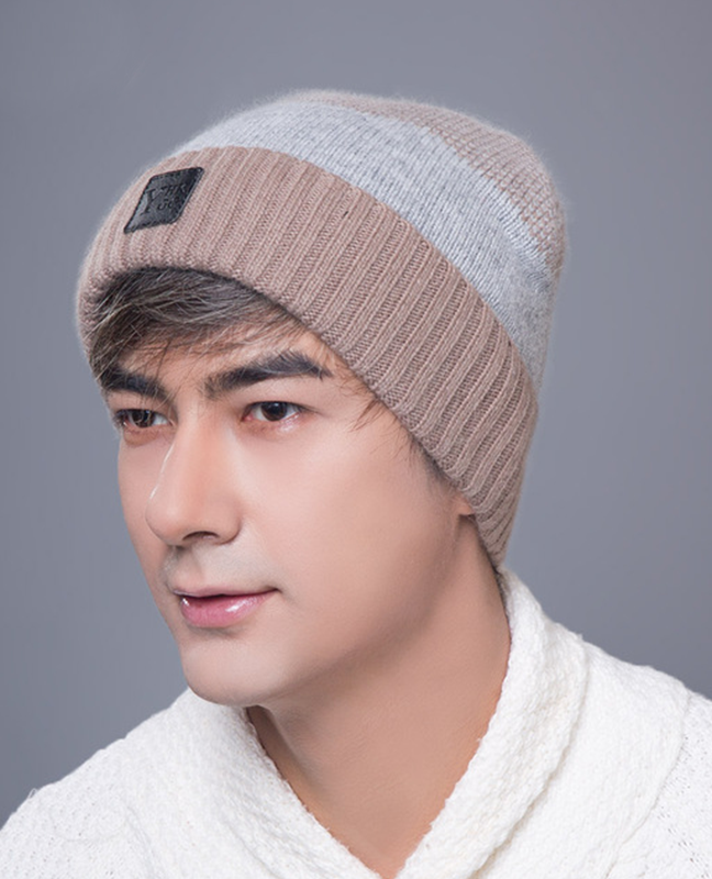 Knitted Cashmere Winter cap