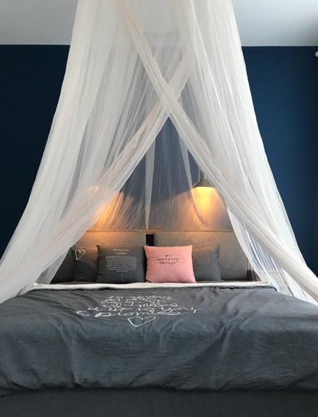 Sheer mesh bed canopy; Sheer mesh bed canopy ... & Sheer mesh bed canopy u2013 Liludian