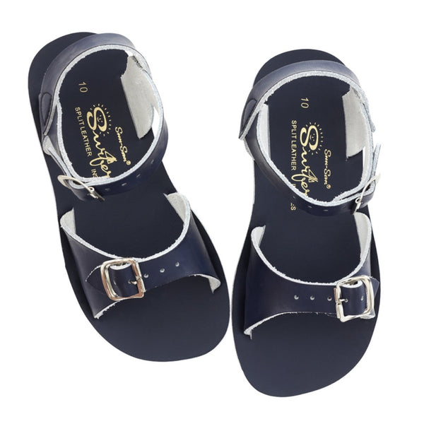 'Surfer' Sandals - Navy