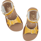 'Surfer' Sandals - Mustard (Infant 4 - 7)